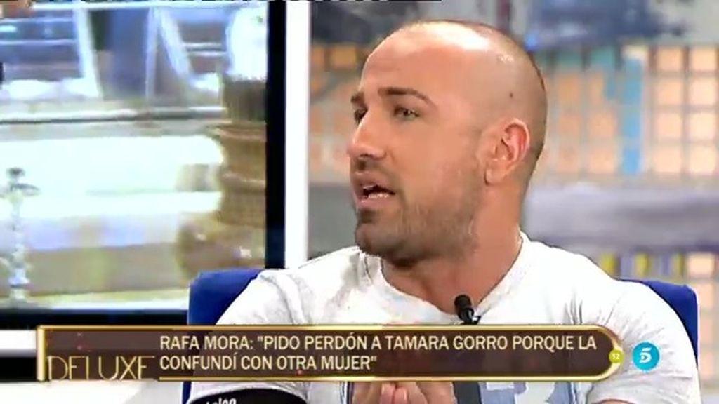 Rafa Mora le pide perdón a Tamara Gorro después de acusarla de fingir un embarazo