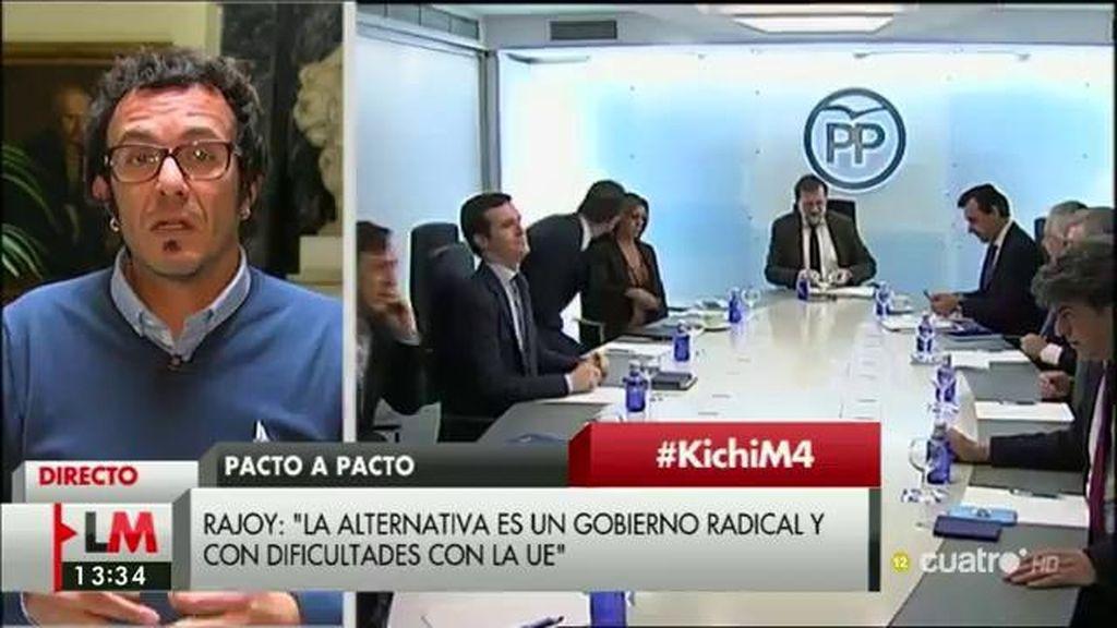 """J.M. González: """"Lo peor que le podía pasar a este país ya le ha pasado, la gestión del PP"""""""