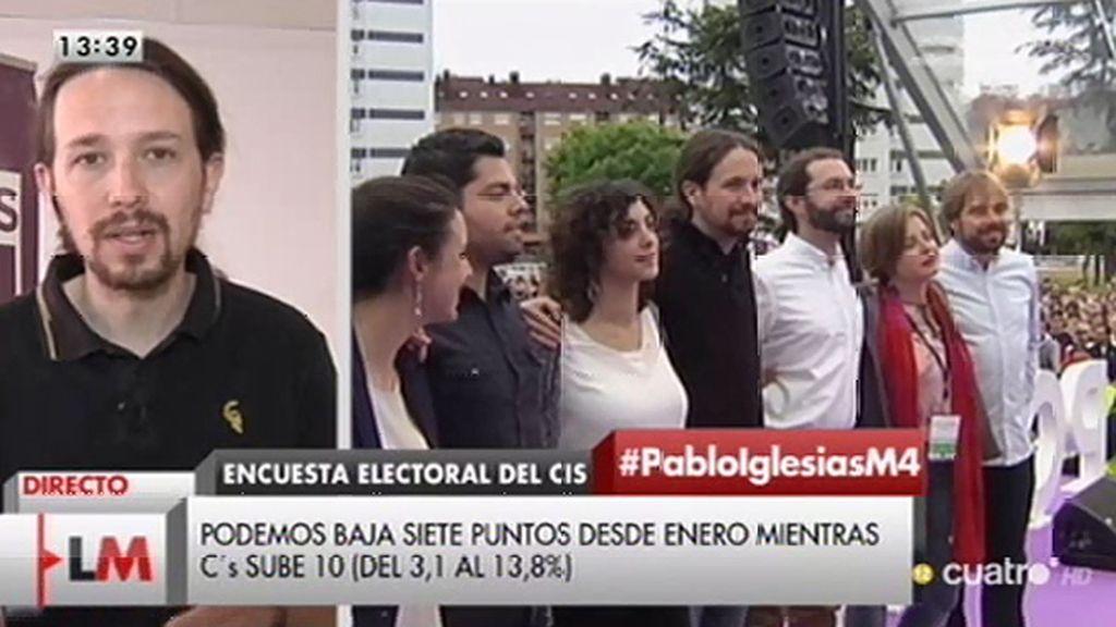 La entrevista a Pablo Iglesias, online