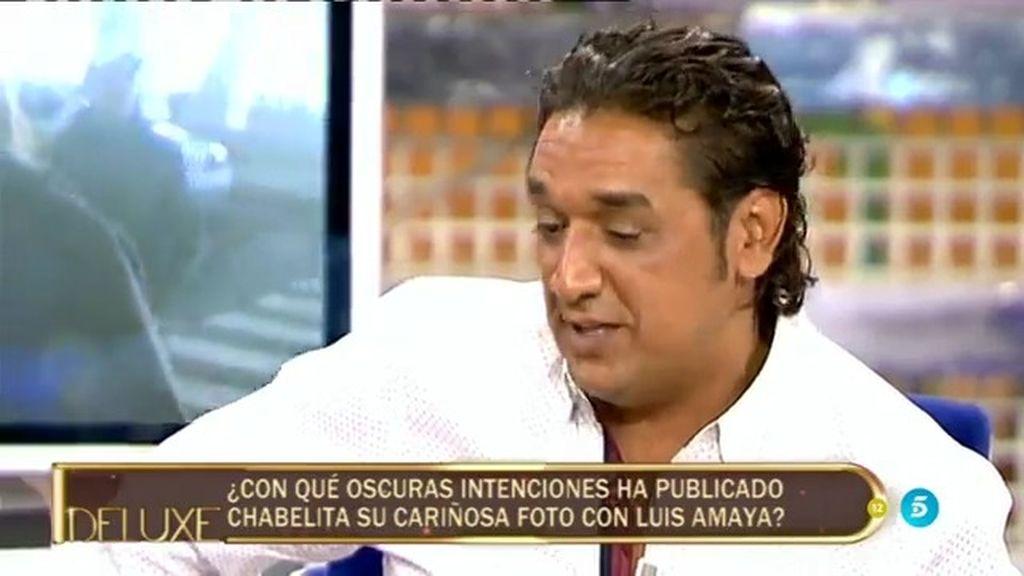 """Luis Amaya: """"Chabelita me ha dicho que Alberto Isla es tonto"""""""
