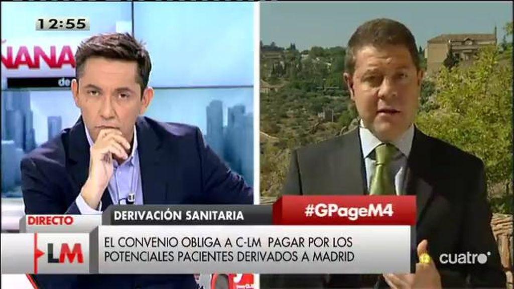 """García - Page: """"Nos estamos encontrando con muchas trampas dentro del presupuesto"""""""