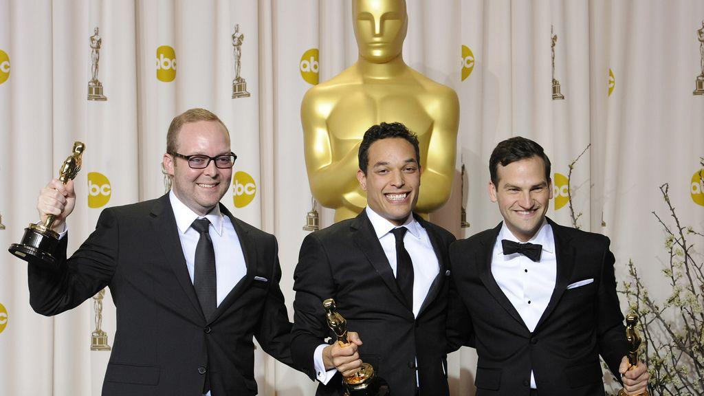 TJ Martin, Dan Lindsay y Richard Middlemas, Mejor largometraje documental por 'Undefeated'
