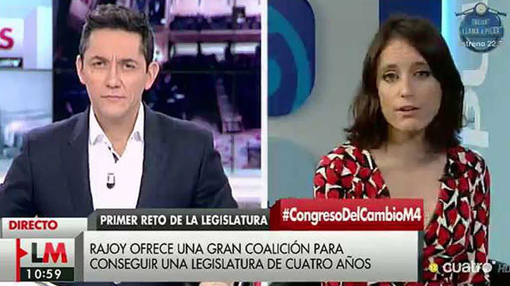 """Levy: """"El PP ha renunciado a la Presidencia para tener más posiciones en el Congreso"""""""