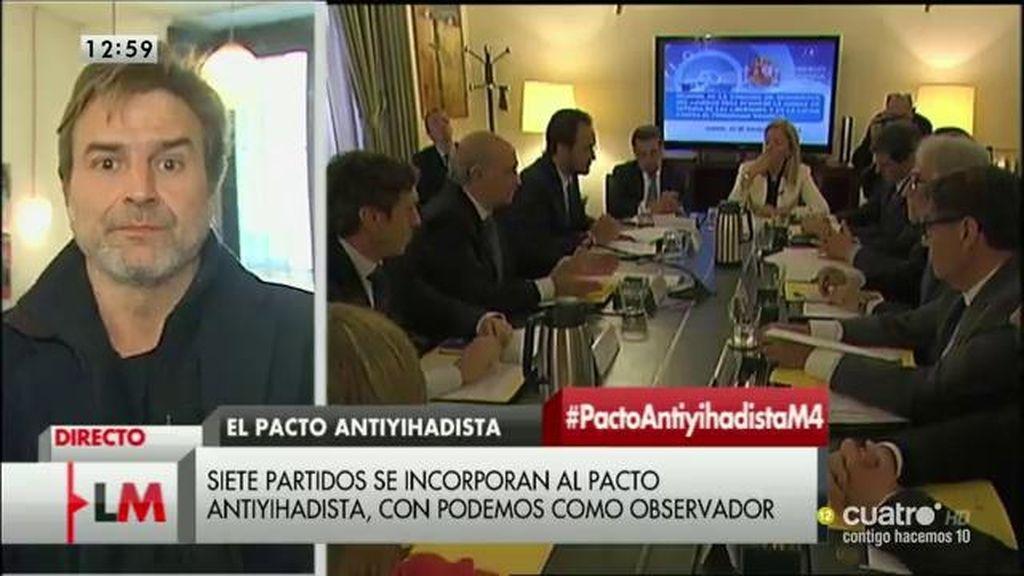 """Alberto San Juan: """"Es deseable que los políticos se posicionen, necesitamos votar con el mayor conocimiento posible"""""""