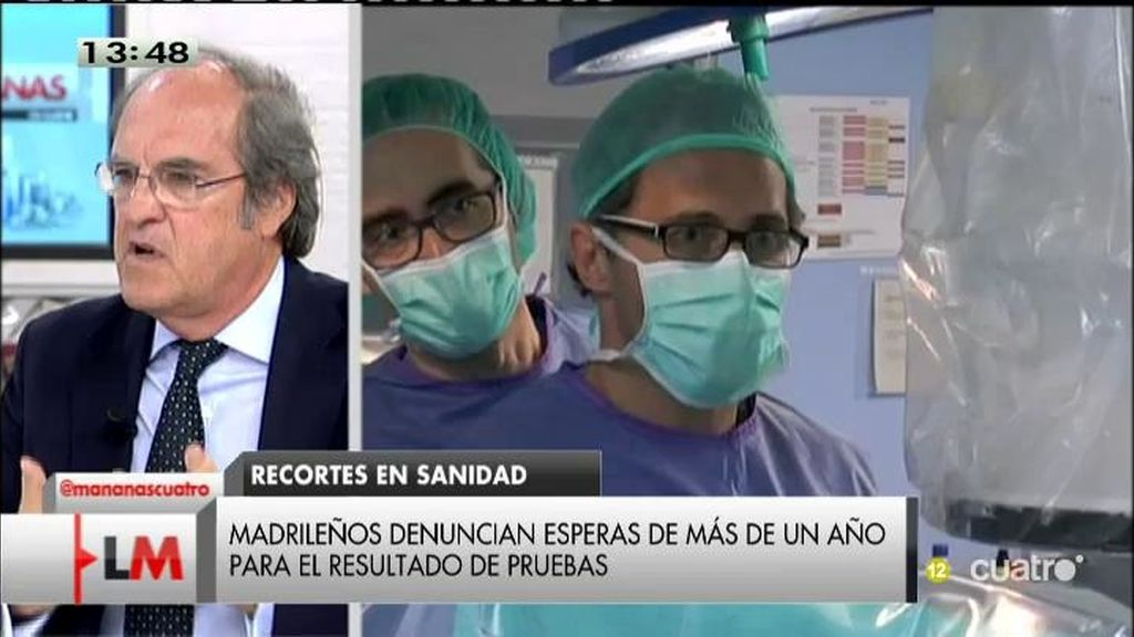 """A. Gabilondo: """"Si la Sanidad es una prioridad, hay que demostrarlo en los presupuestos"""""""