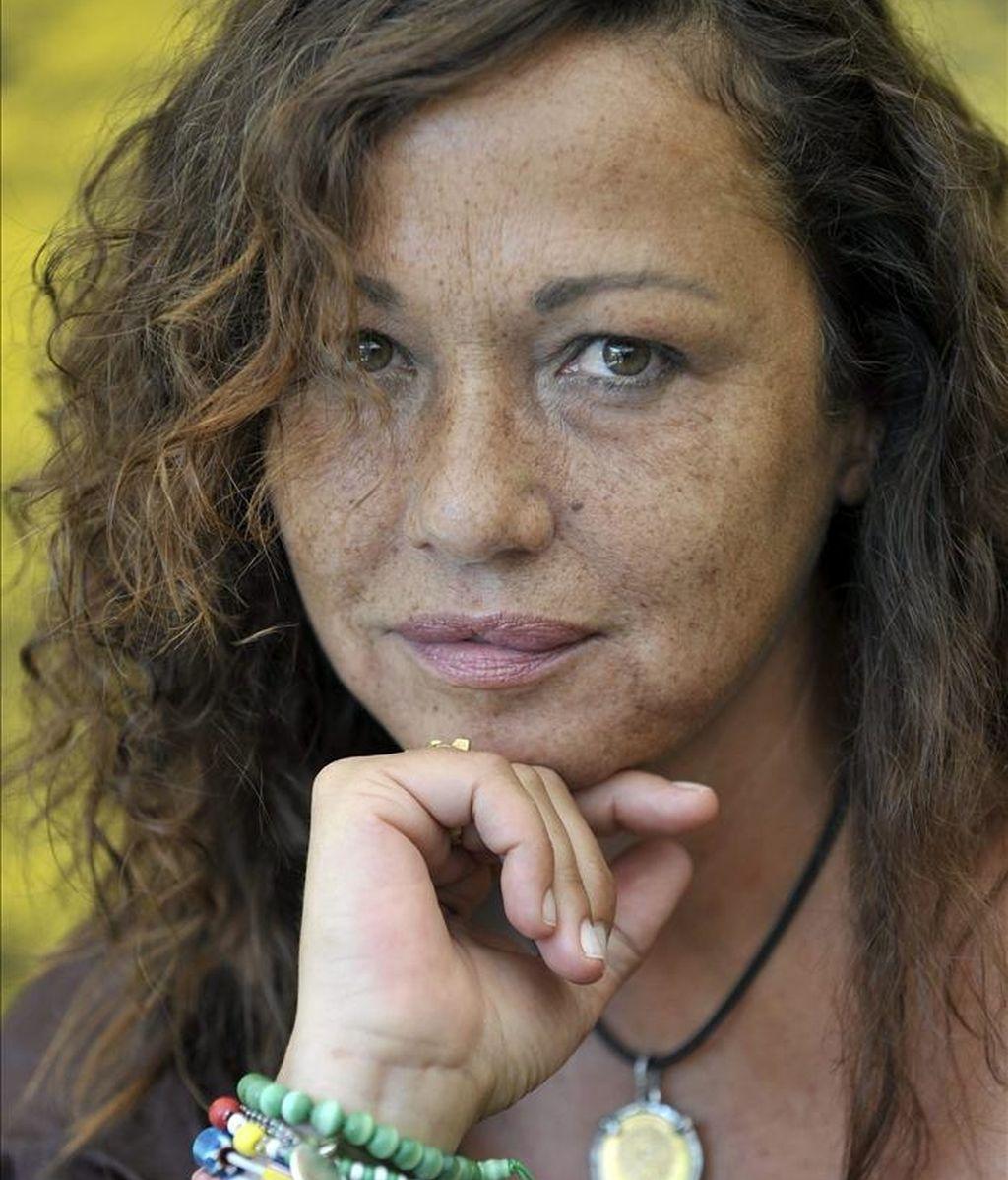 La actriz y fotógrafa española Eulalia Ramón. EFE/Archivo