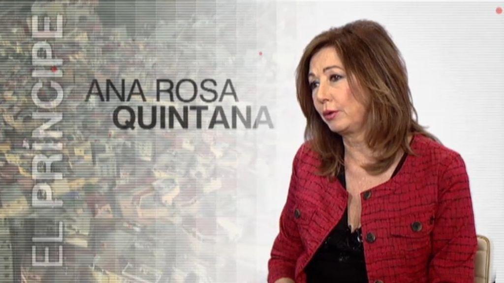 """Ana Rosa: """"El Príncipe' ha sido una forma distinta de hacer las series"""""""