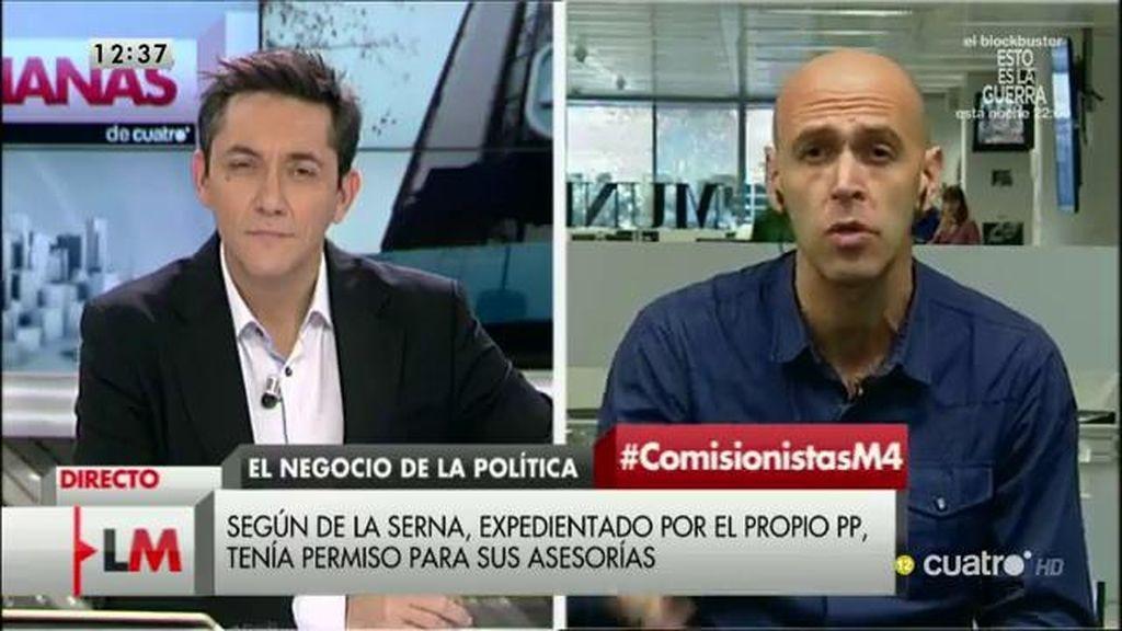 """Quico Alsedo: sobre el caso Arístegui-De la Serna: """"Sería importante que el Congreso no haga la vista gorda"""""""