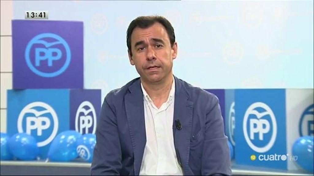"""Martínez Maillo: """"El PP se ha encontrado solo en la lucha contra la corrupción en términos legislativos"""""""