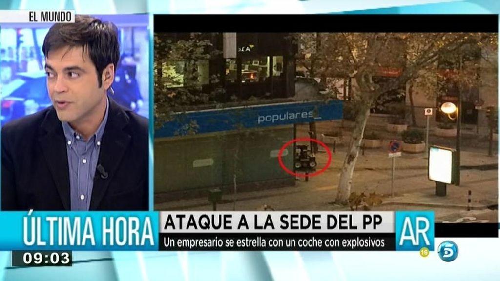"""Ángel Moya: """"Los investigadores creen que hay 15 kilos de nitrato de amonio en el coche"""""""