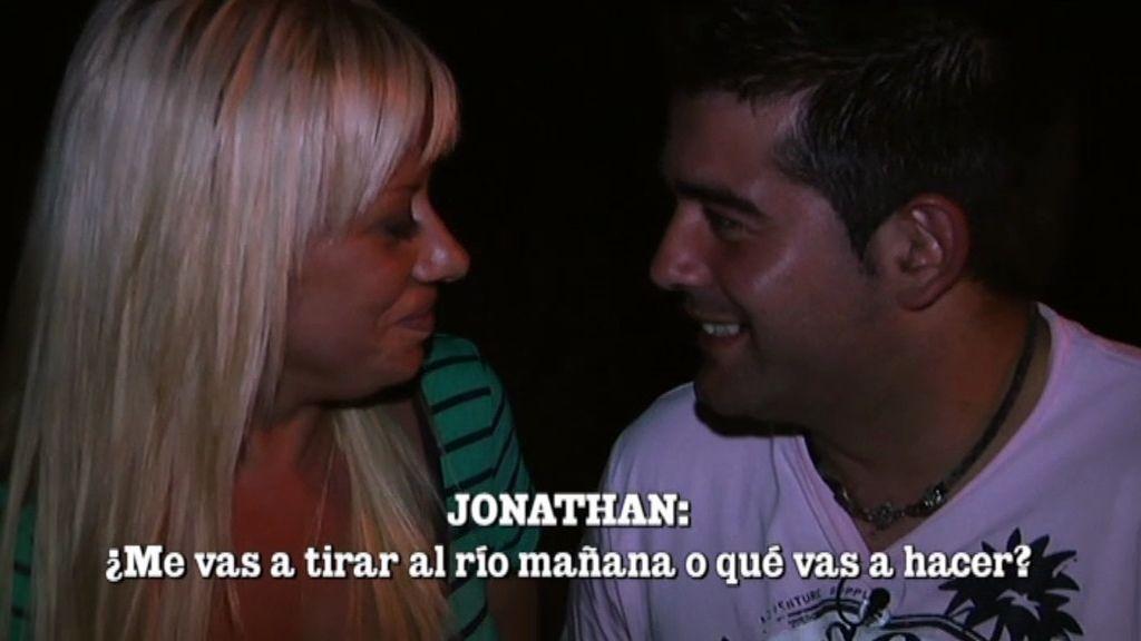 Jonathan y Elisabeth: tensión sexual