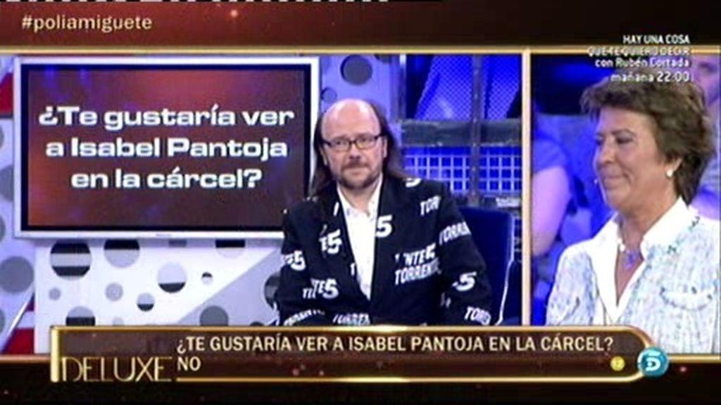 Según el polideluxe, a Santiago Segura le gustaría ver a Isabel Pantoja en la cárcel