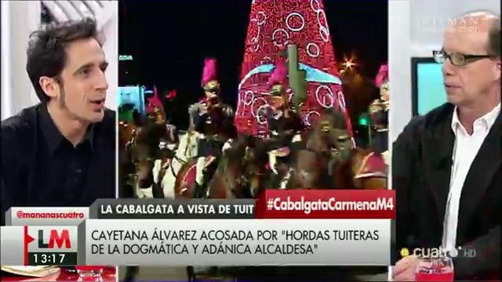"""J. González, de la cabalgata de Reyes de Madrid: """"Fue una charlotada"""""""