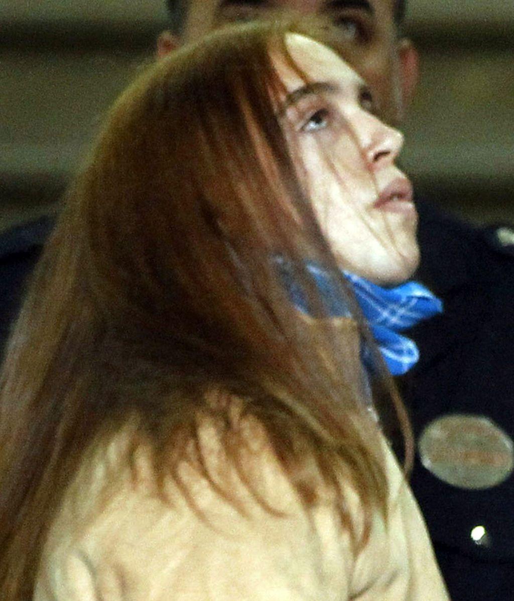 'El Cuco' a su llegada a los juzgados en 2011 para declarar en el caso Marta del Castillo