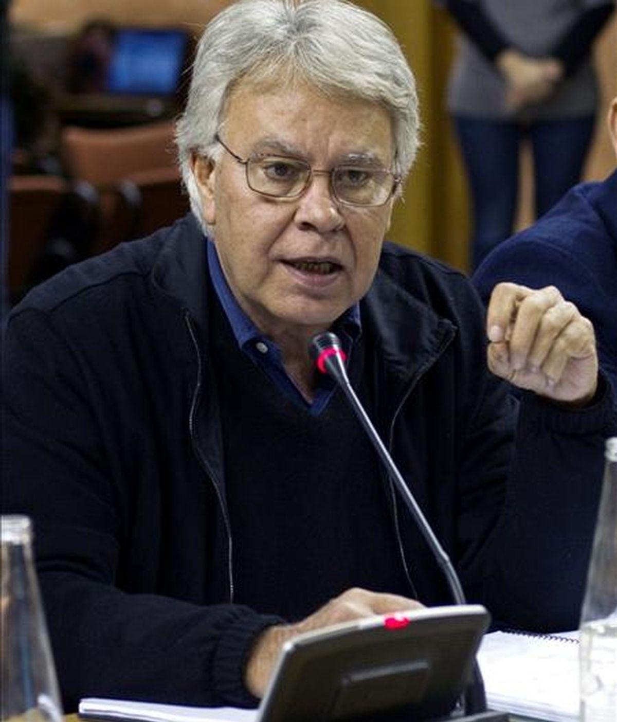 En la imagen, el ex presidente del gobierno, Felipe González. EFE/Archivo