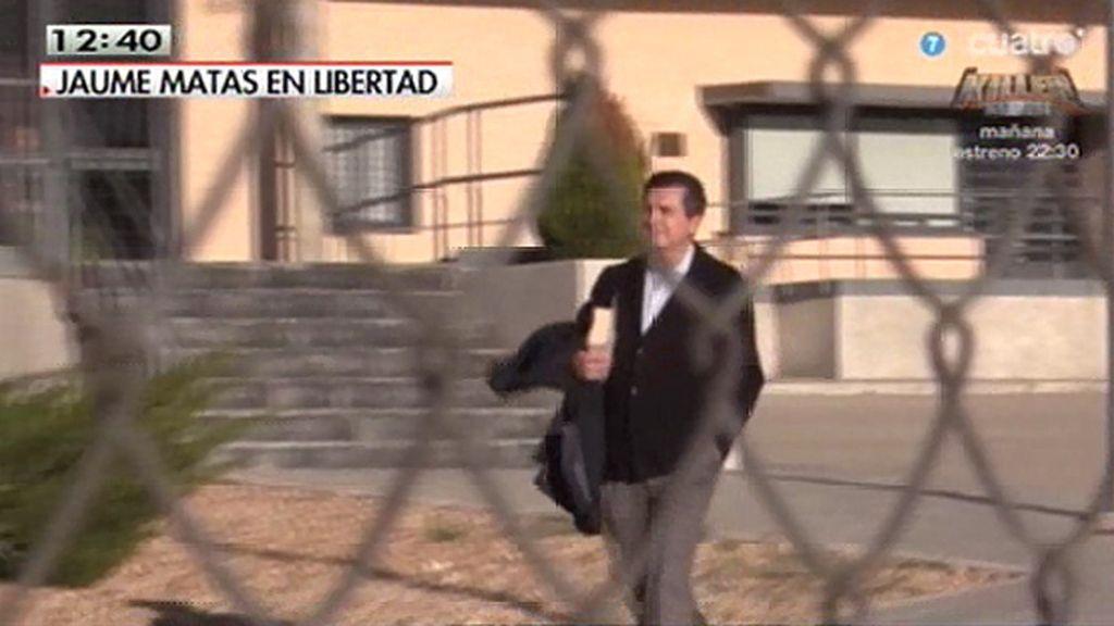 """El PSOE cree que el tercer grado de Matas es """"un indulto encubierto"""""""