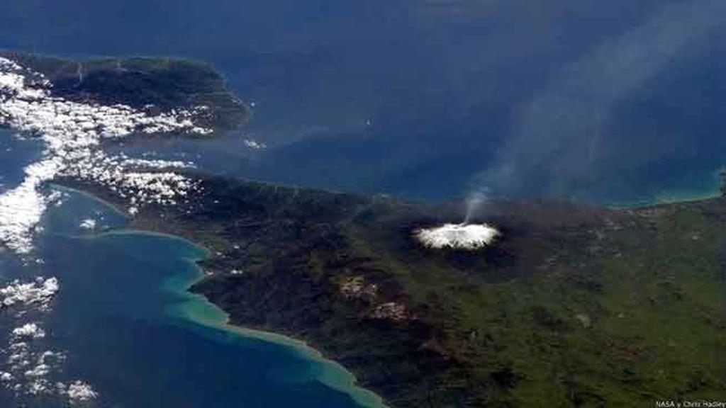 El volcán Etna en plena erupción