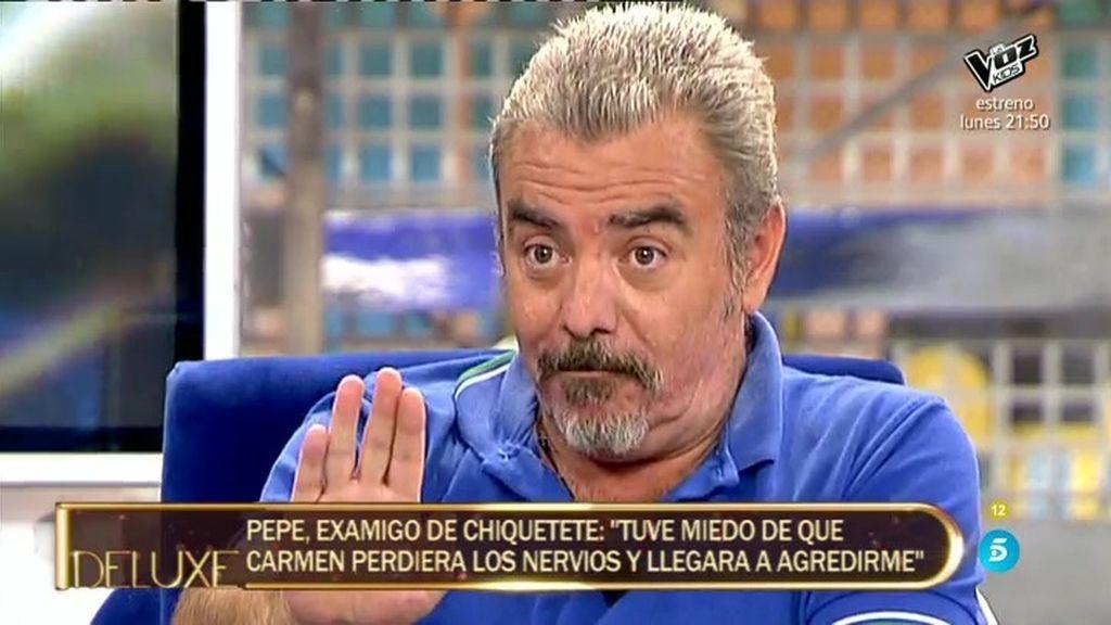 """Pepe, sobre Carmen Gahona: """"La he llevado varias veces a su casa cuando va borracha"""""""
