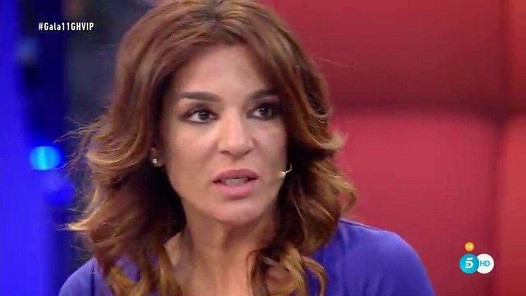 """Raquel, de la entrada de Aguasantas: """"Está tan superado que no voy a hablar de esto"""""""