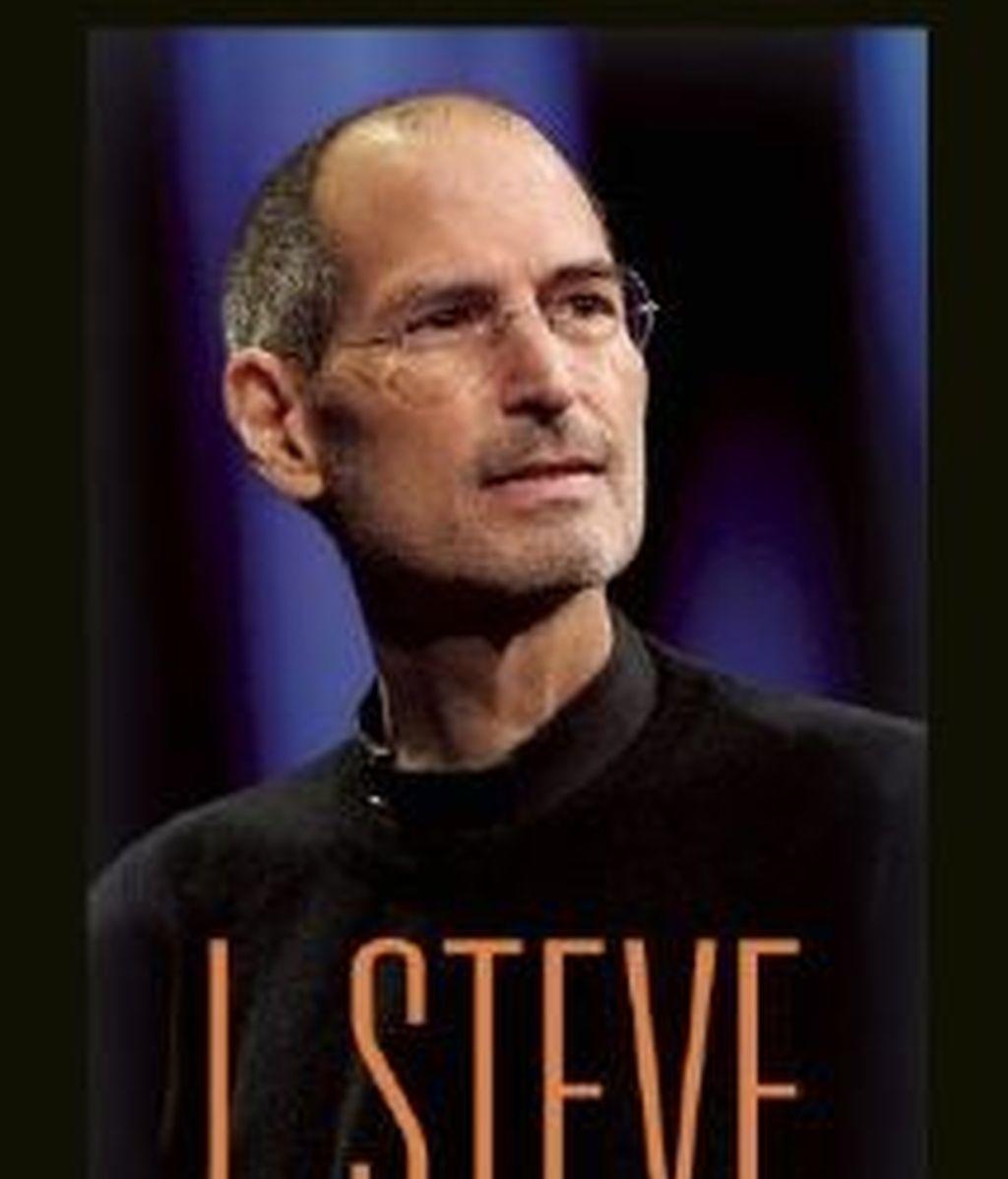 Portada del libro biográfico de Steve Jobs que ya está a la venta desde este lunes aunque solo en inglés.