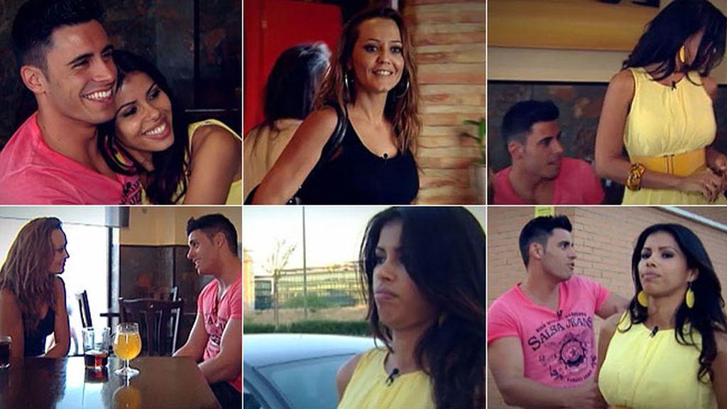 Jackie abandona su cita tras la irrupción de Carmen