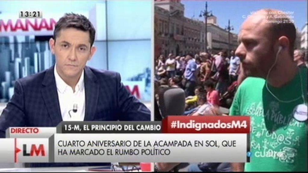 """Carlos, de No Somos Delito: """"La Ley Mordaza es un ataque al Estado de derecho"""""""