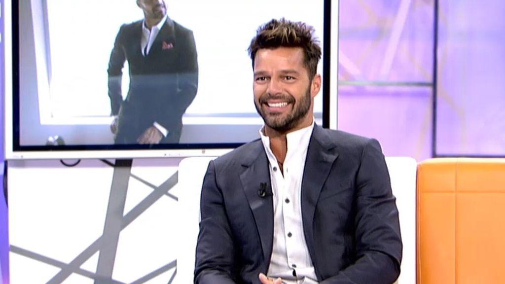 """Ricky Martin: """"Uno no se tiene que esconder para amar"""""""