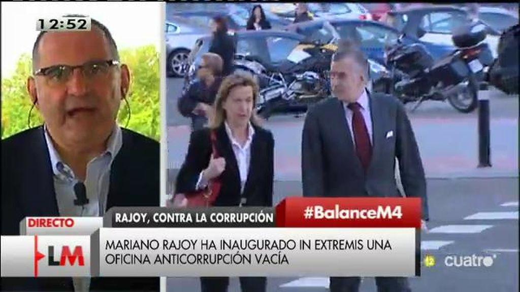 """Antón Losada, sobre Rajoy: """"Hay que empezar a aplicar el tratamiento del 'yonki' que se niega a admitir que tiene un problema"""""""