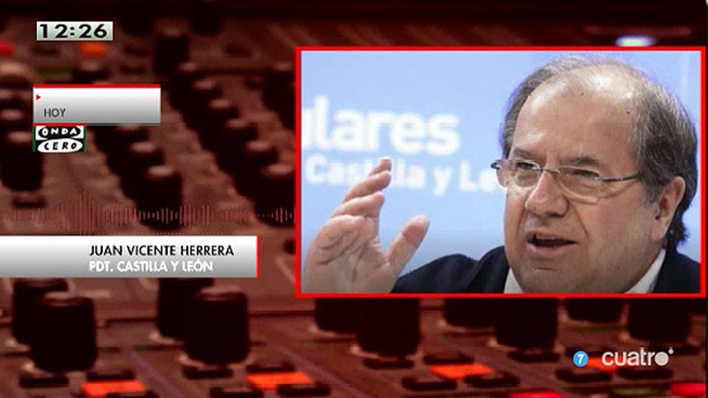 """Juan Vicente Herrera, PDT. Castilla y León: """"Yo le diría, presidente mírate al espejo y respóndete a ti mismo"""""""