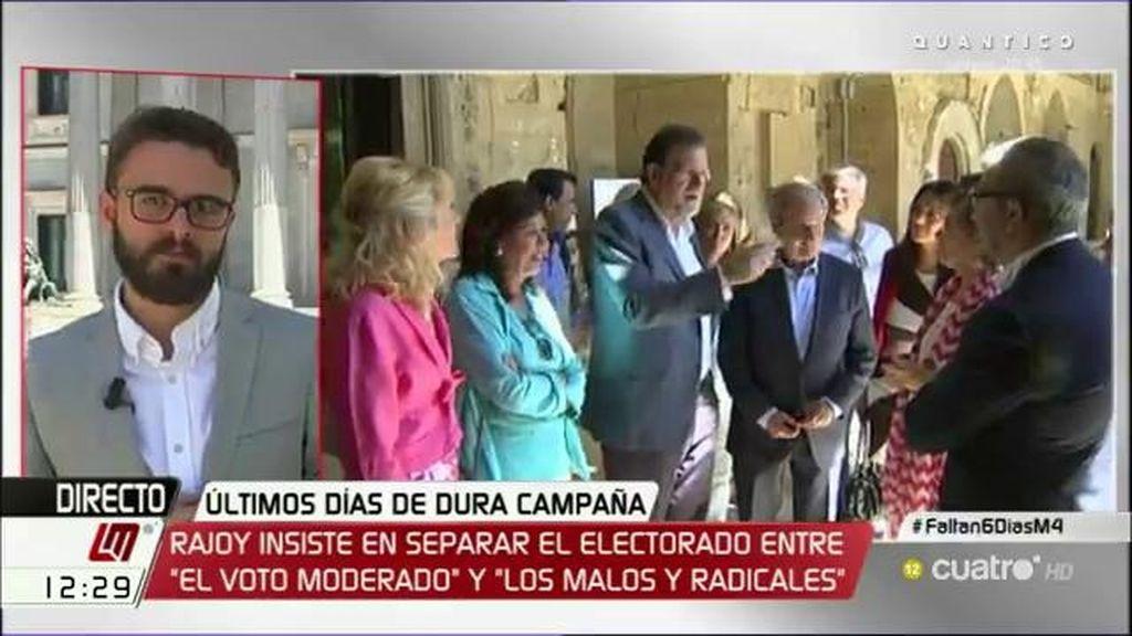 """Jorge Galindo: """"La polarización conviene a quien están en los extremos"""""""