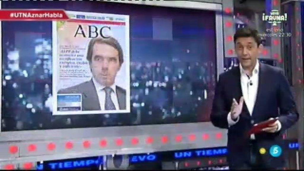 Javier Ruíz analiza las duras críticas de Aznar al Partido Popular en una entrevista