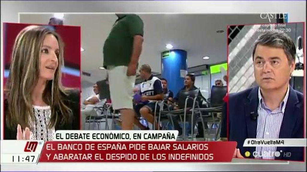 """A. Ballester (Podemos): """"Si viene o no una nueva reforma laboral lo va a decidir la gente el 26 de junio"""""""