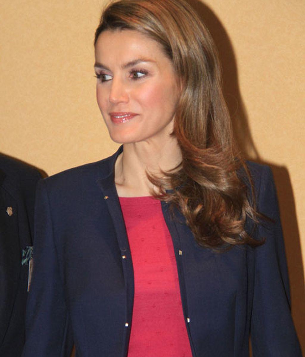 Doña Letizia, en un congreso de enfermedades raras