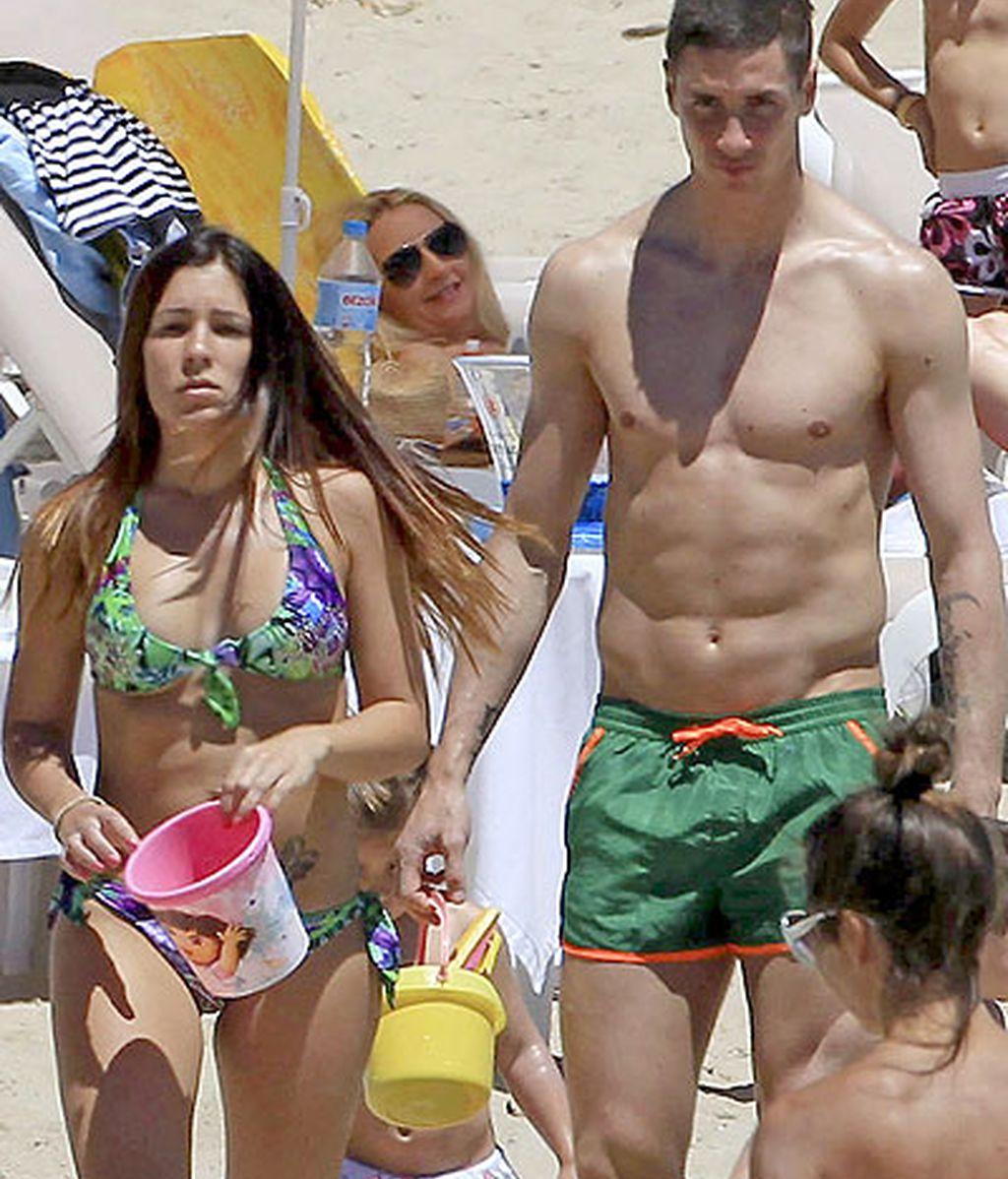 Torres y su familia acuden cada año a la isla pitiusa