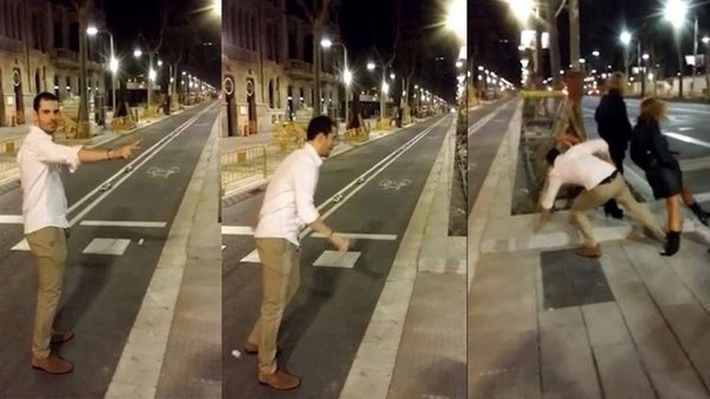 Indignación por la brutal agresión a una joven en Barcelona
