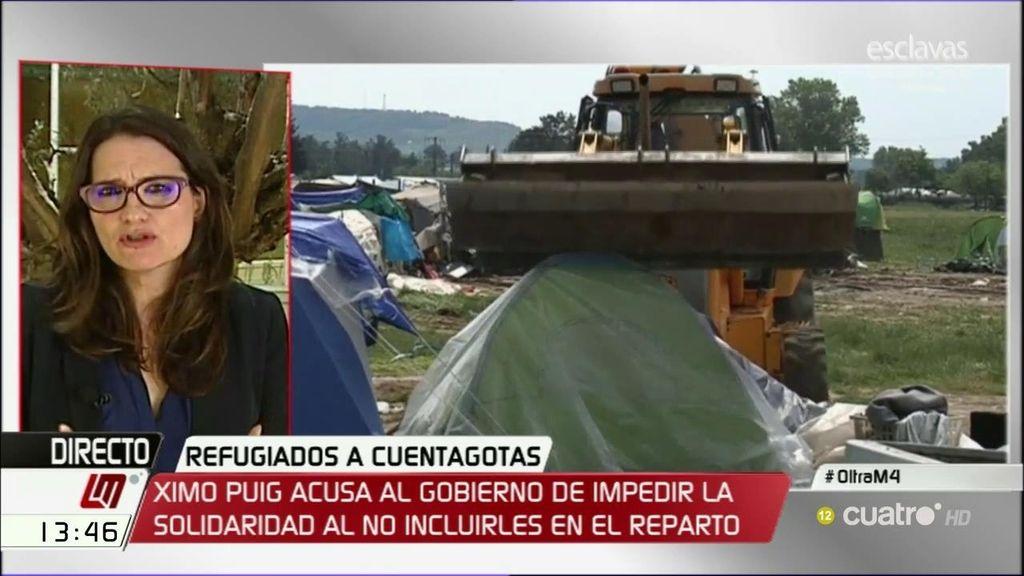 """Oltra, sobre los refugiados: """"Es una vergüenza cómo está actuando la Unión Europea y el gobierno de España"""""""
