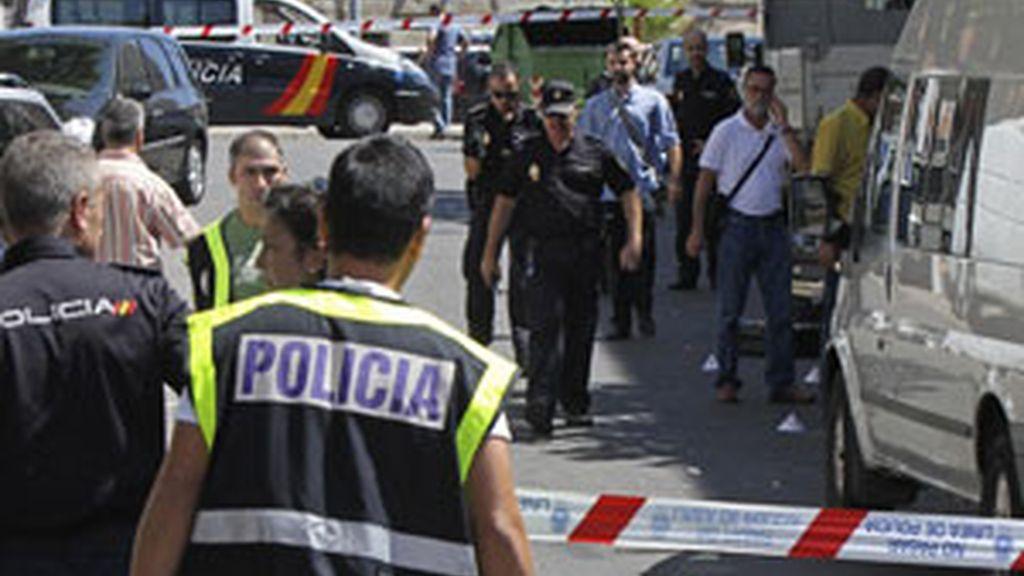 El tiroteo ha tenido lugar en la barriada de San Lázaro, la más conflictiva de la ciudad. Foto: EFE