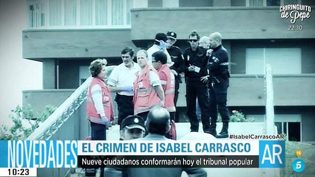 Nueve ciudadanos formarán el jurado popular para el caso de Isabel Carrasco