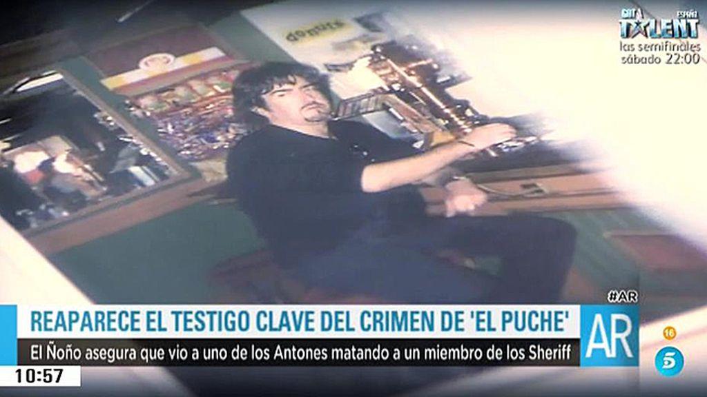 """El Ñoño, testigo clave del crimen """"El Puche"""""""