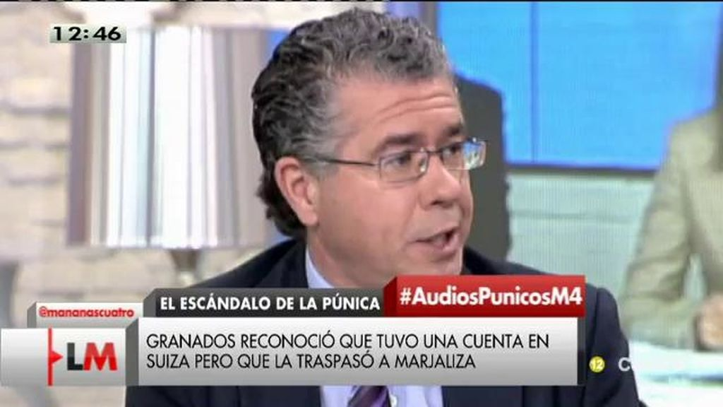 Las palabras de Francisco Granados antes y después de su detención