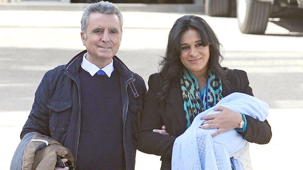 José Ortega Cano cariñoso con Ana María Aldón