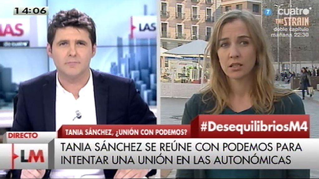 """T. Sánchez: """"Abrimos un proceso de diálogo con todas las fuerzas políticas, también con Podemos"""""""