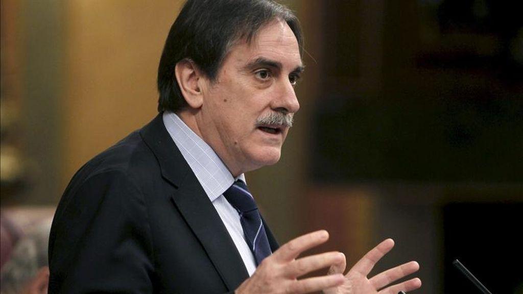 El ministro de Trabajo, Valeriano Gómez, en el Congreso. EFE/Archivo