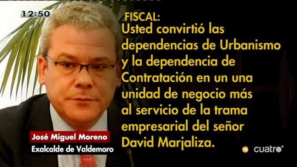 J.M. Moreno dice no tener dinero ante el juez