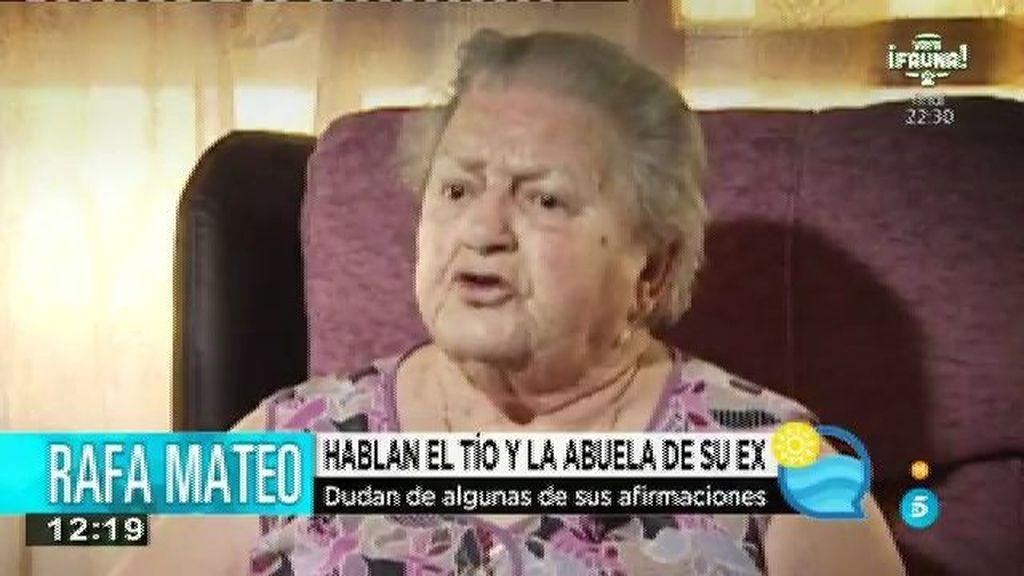 La familia de Rocio, exnovia de Rafa Mateo, molestos por sus palabras en televisión