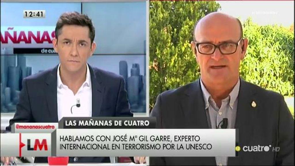 """José María Gil Garre, experto en terrorismo por la Unesco: """"He interactuado con terroristas por las redes sociales"""""""