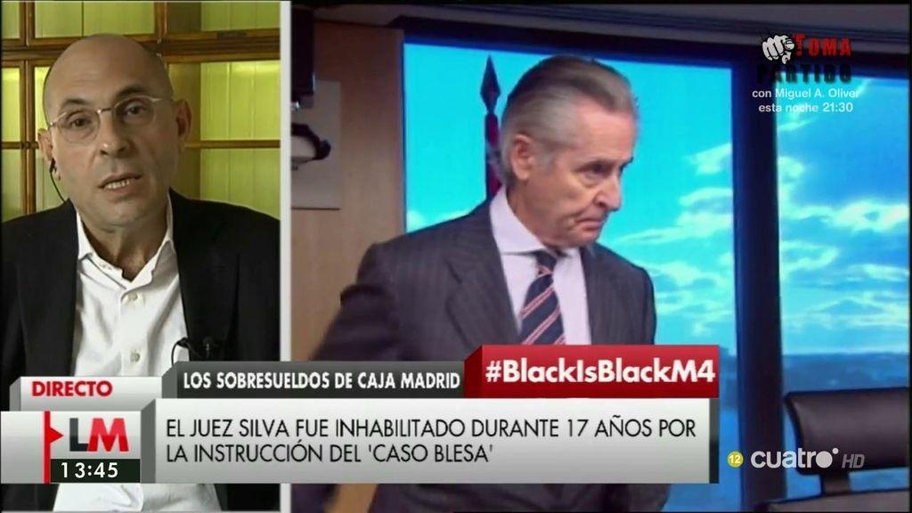 """E. Silva: """"Ha habido un complot dirigido a que los jueces no podamos trabajar de manera digna y adecuada"""""""