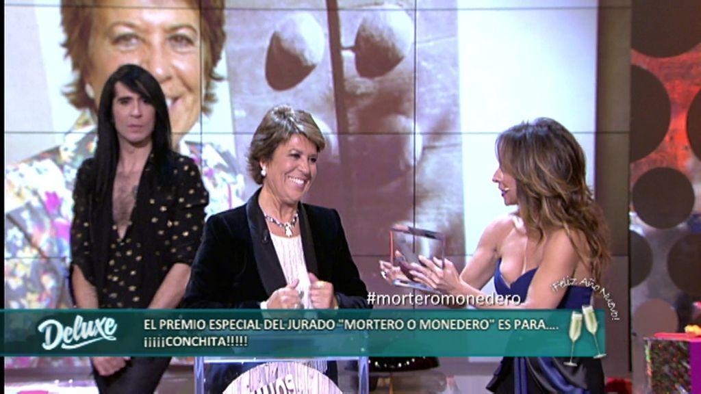 """Conchita gana el premio especial del jurado """"mortero o monedero"""""""