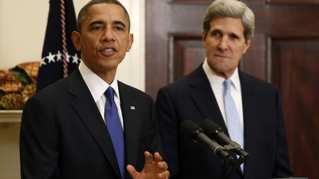 Obama confirma a John Kerry como su candidato a secretario de Estado