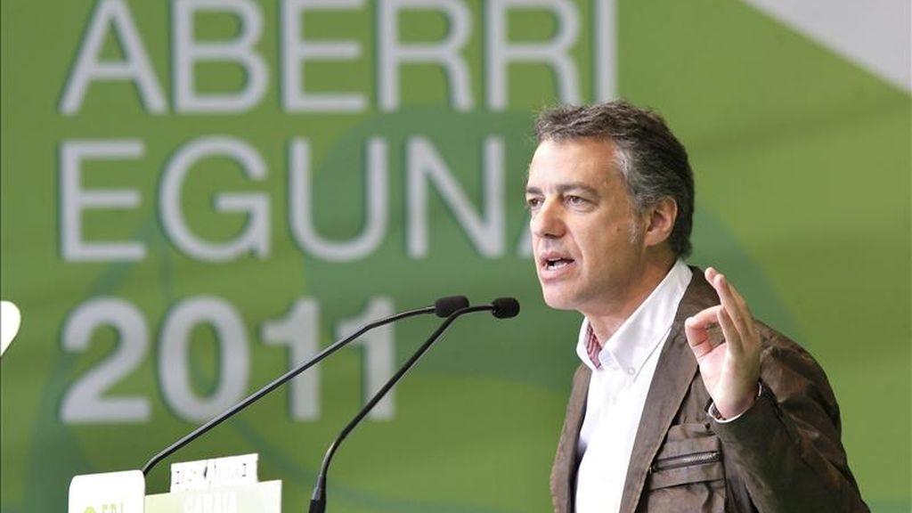 El presidente del PNV, Iñigo Urkullu. EFE/Archivo